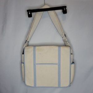 New! Lands End Canvas Diaper Bag Baby